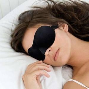 сон с повязкой на глазах