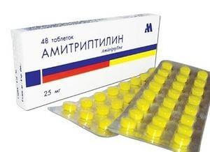 трициклические антидепрессанты – амитриптилин