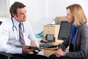 женщина обратилась к психотерапевту