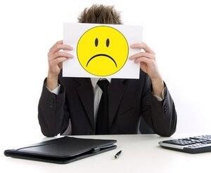 у мужчины наблюдается нежелание работать из-за плохого настроения