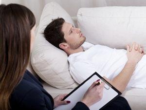 мужчина для нормализации своего эмоционального состояния обратился к психологу