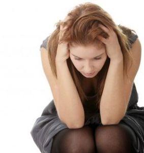 у девушки преобладает нежелание делать что-либо