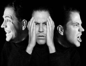 у мужчины хорошее настроение сменяется на подавленное состояние