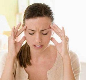 девушка испытала сильный стресс