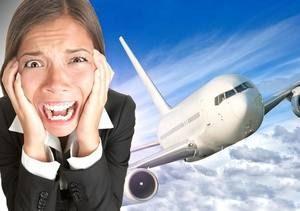у девушки вызывает сильный страх мысль о необходимости совершить перелет на самолете