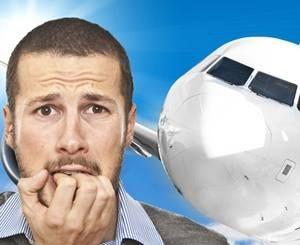у мужчины вызывает страх мысли об необходимости подниматься в небо на самолете