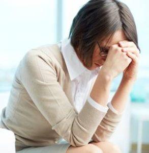 у женщины подавленное состояние