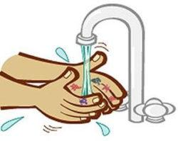 избавление от микробов при помощи воды