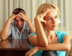 стрессовое состояние женщины из-за семейного конфликта