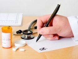 таблетки и рецепт от врача