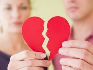 """""""разбитое сердце"""" от неудавшихся отношений"""