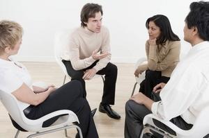 групповые занятия с психотерапевтом