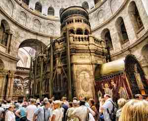 туристы в Иерусалиме