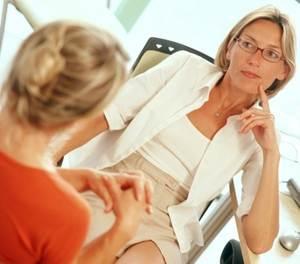 на приеме у впрача-психотерапевта