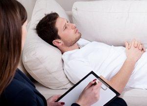 пациент и психотерапевт