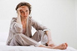 женщина испытала стресс