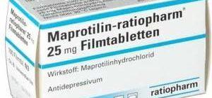 препарат, относящийся к антидепрессантам четырехциклической структуры
