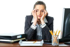 снижение работоспособности