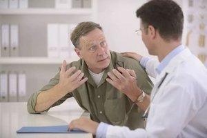 пациент ссорится с врачом