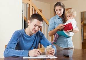 муж-добытчик и жена-домохозяйка