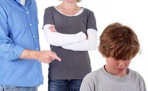 психологическое давление со стороны отца и матери