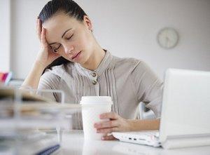 тянущая головная боль