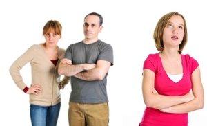 конфликтная ситуация с родителями