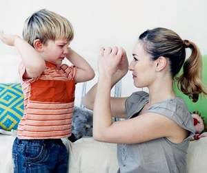 мать ищет контакт с сыном
