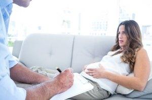 беременная у психолога