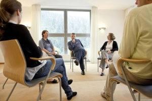 групповые сеансы терапии и тренинги