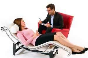 Психотерапевт и пациентка
