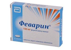 препарат из группы антидепрессантов и селективных ингибиторов обратного захвата серотонина