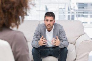 пациент у психотерапевта