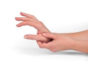 подергивание большого пальца