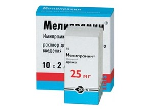 антидепрессант из группы неселективных ингибиторов обратного захвата моноаминов