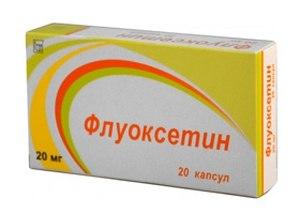 упаковка с антидепрессантом
