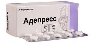 антидепрессант группы селективных ингибиторов обратного захвата серотонина