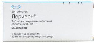 тетрациклический антидепрессант