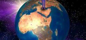 человек и земной шар
