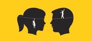 лицо мужчины и женщины