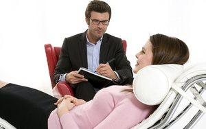 беседа психолога с пациенткой