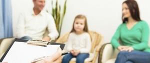 у психолога с ребенком