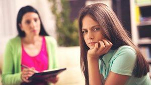 подросток у психолога