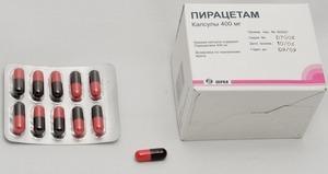 капсулы для нормализации высших психических функций ЦНС.