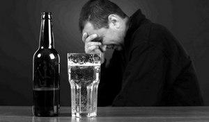 депрессия от алкоголя
