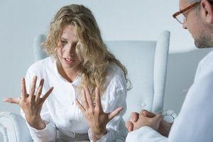 психиатр и пациентка