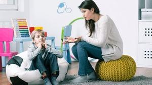 психолог и ребенок